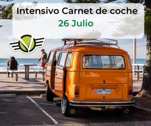 8 de Julio Intensivo Carnet de coche